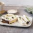 Zitronen-Cheesecake ohne Boden aus dem Brotbackautomaten (glutenfrei & vegan)