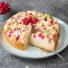 Johannisbeer-Rührkuchen mit Streuseln (glutenfrei & vegan) *mit Videoanleitung