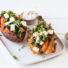 Gefüllte Süßkartoffeln (glutenfrei & vegan)